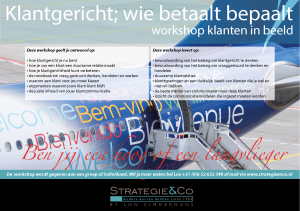 Workshop klantenkring in beeld